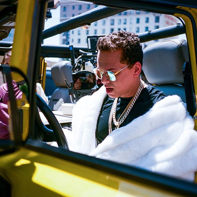 The @logic Icy video ft. @laflare1017 directed by the legend @colinseyes out now! #Icy #bts #behindthescenes #35mm  #coadm