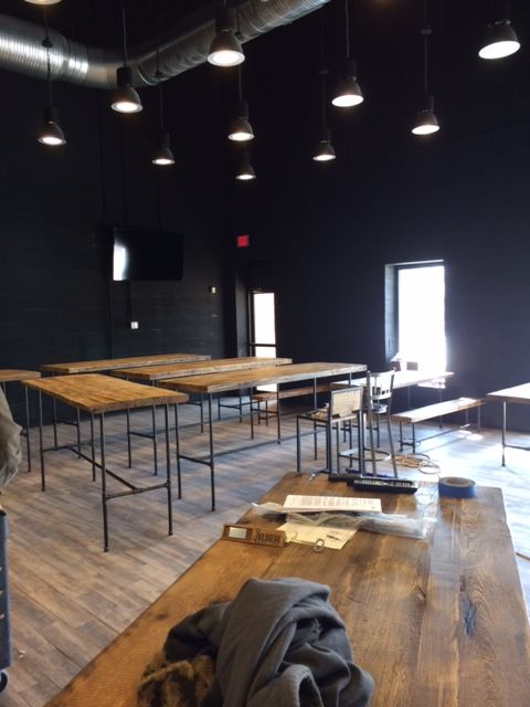 The soon to be largest tap room in Maryland.