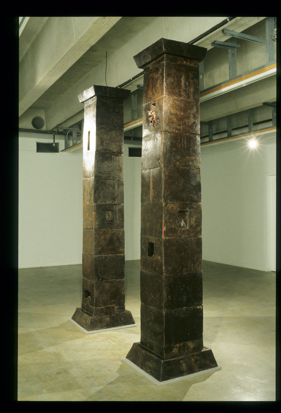 Portal to the Natural World, wax, 2002