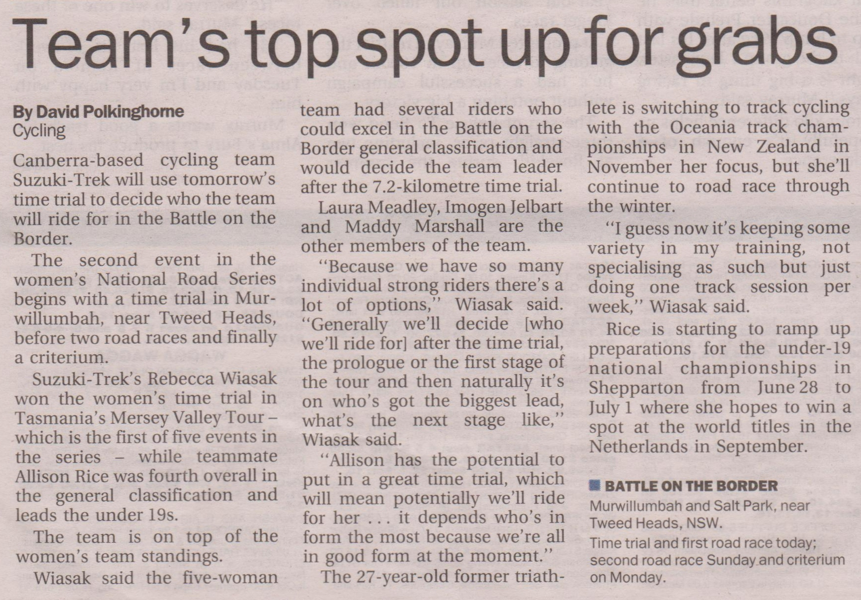 The Canberra Times  5 May 2012