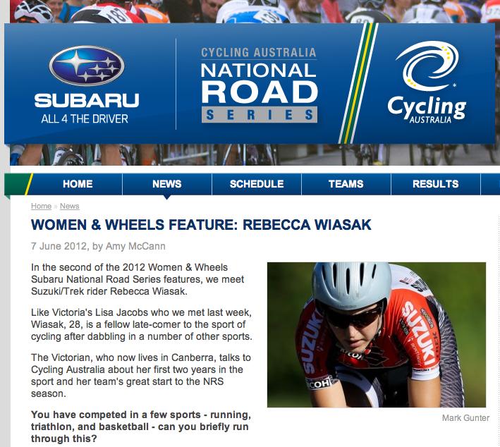 Women & Wheels Feature  7 June 2012