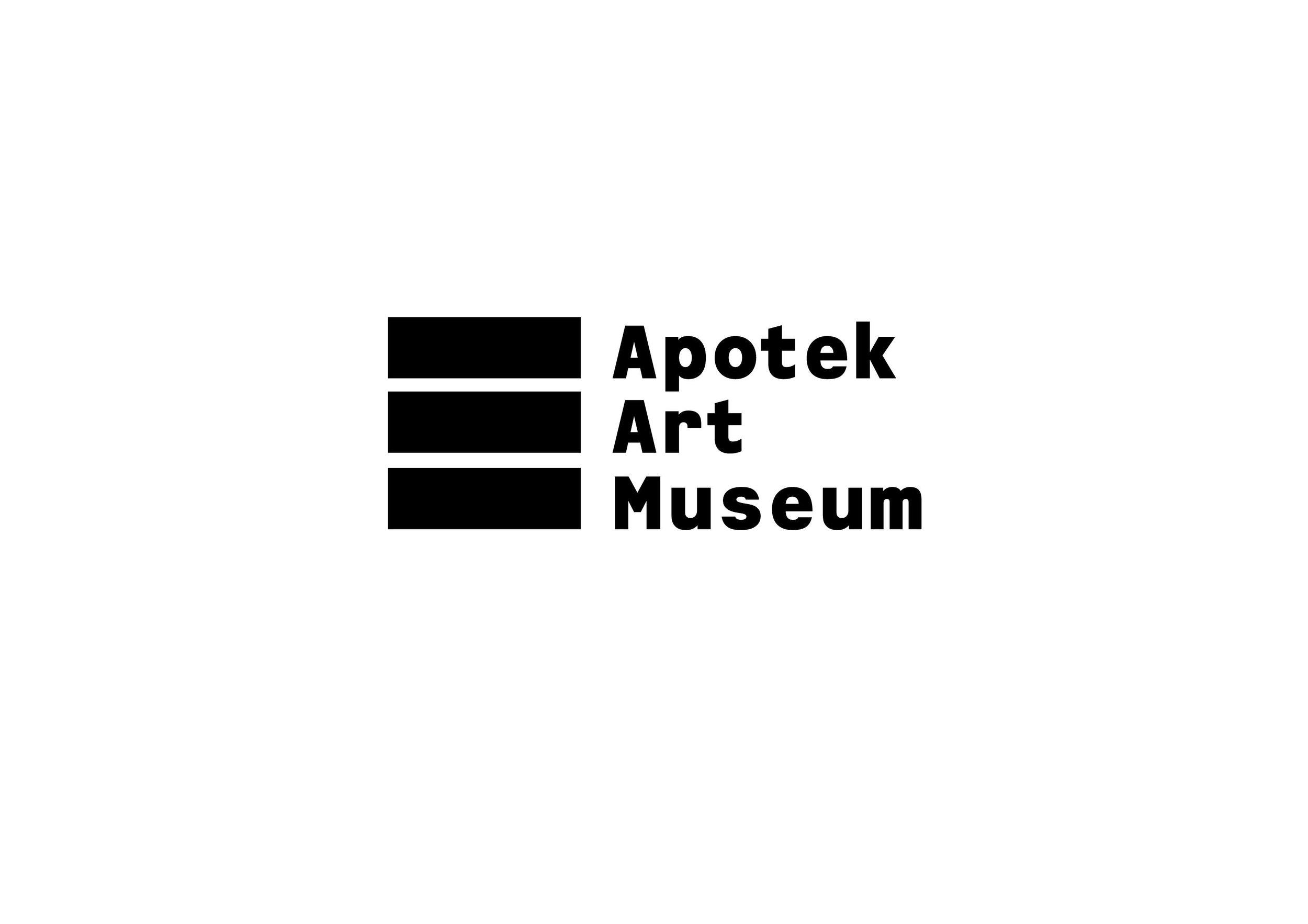 Apotek Art Museum, brand suggestion (2013)