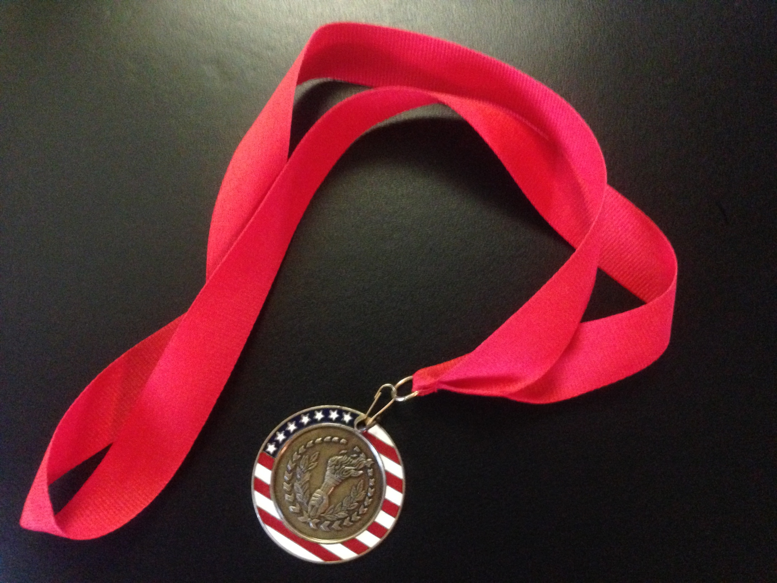 The medal's a nice perk, but it's how you get there that counts.