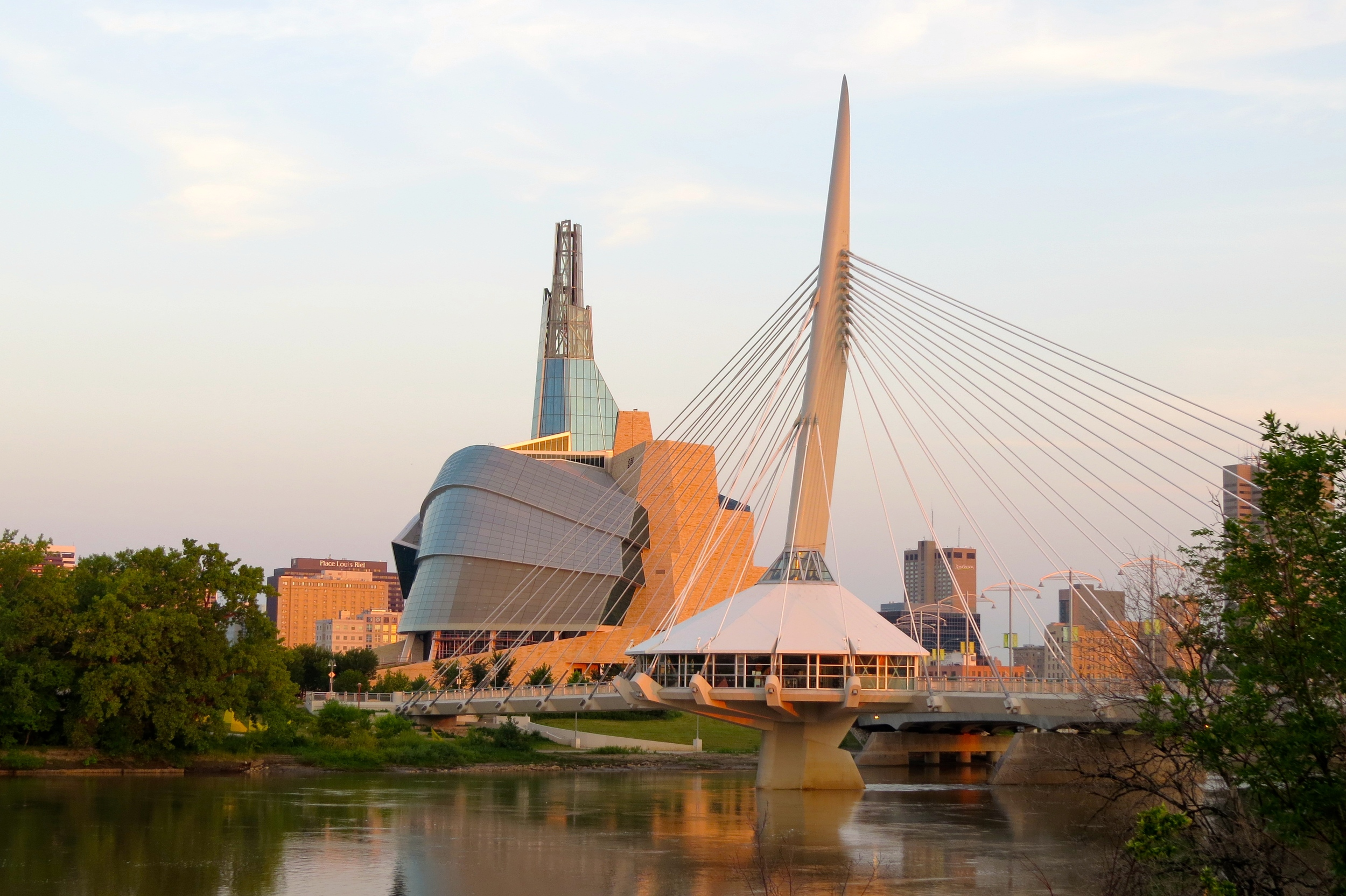 You bet! Here's a picture of Winnipeg to prove it. Pretty sweet. Right?
