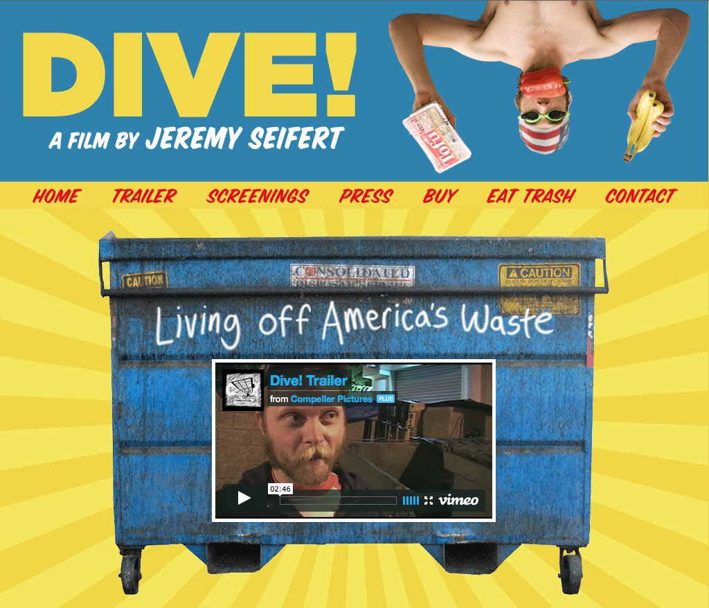 A critically acclaimed 2009 documentary about dumpster diving culture and food waste in America.