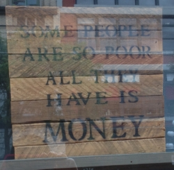 I stumbled across this thought during one of our excursions into Gastown. Loved it!