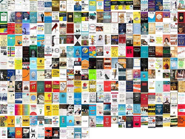 Wall of Books. Click for larger image.