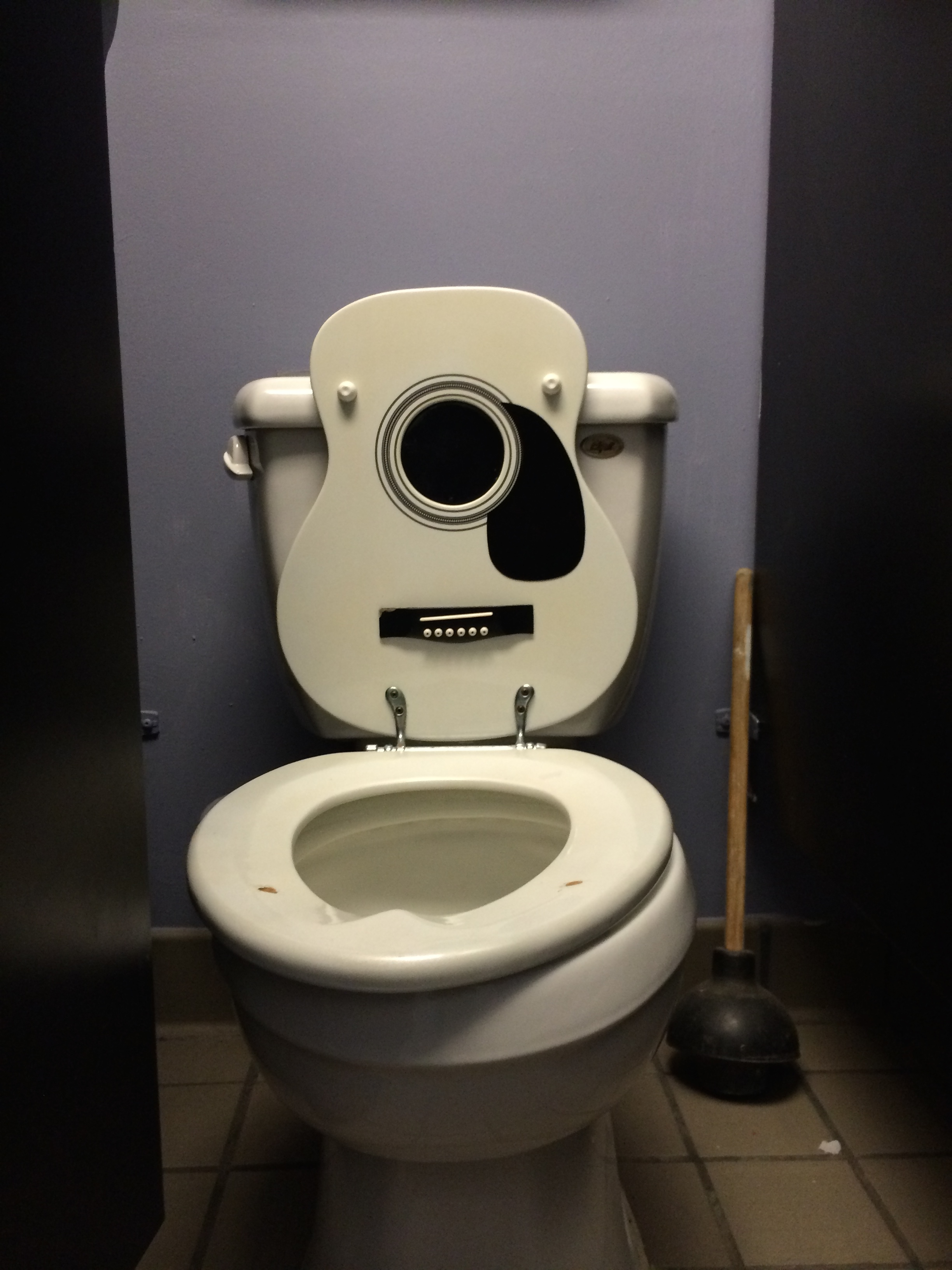 "the ""rockstar toilet"" in Indianapolis."