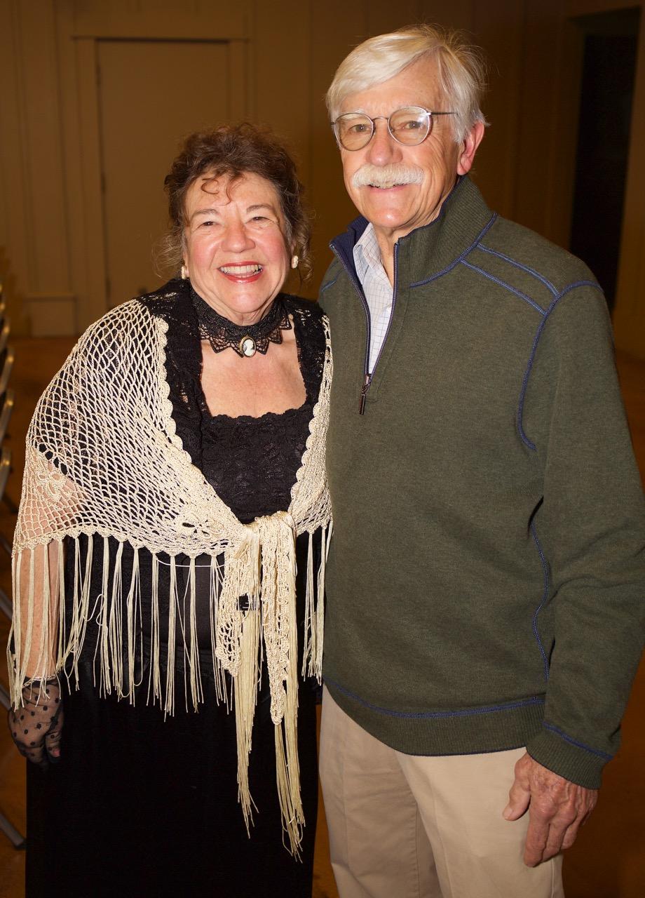 Pati Stoliar in Ragtime fashion and Bob Bundy