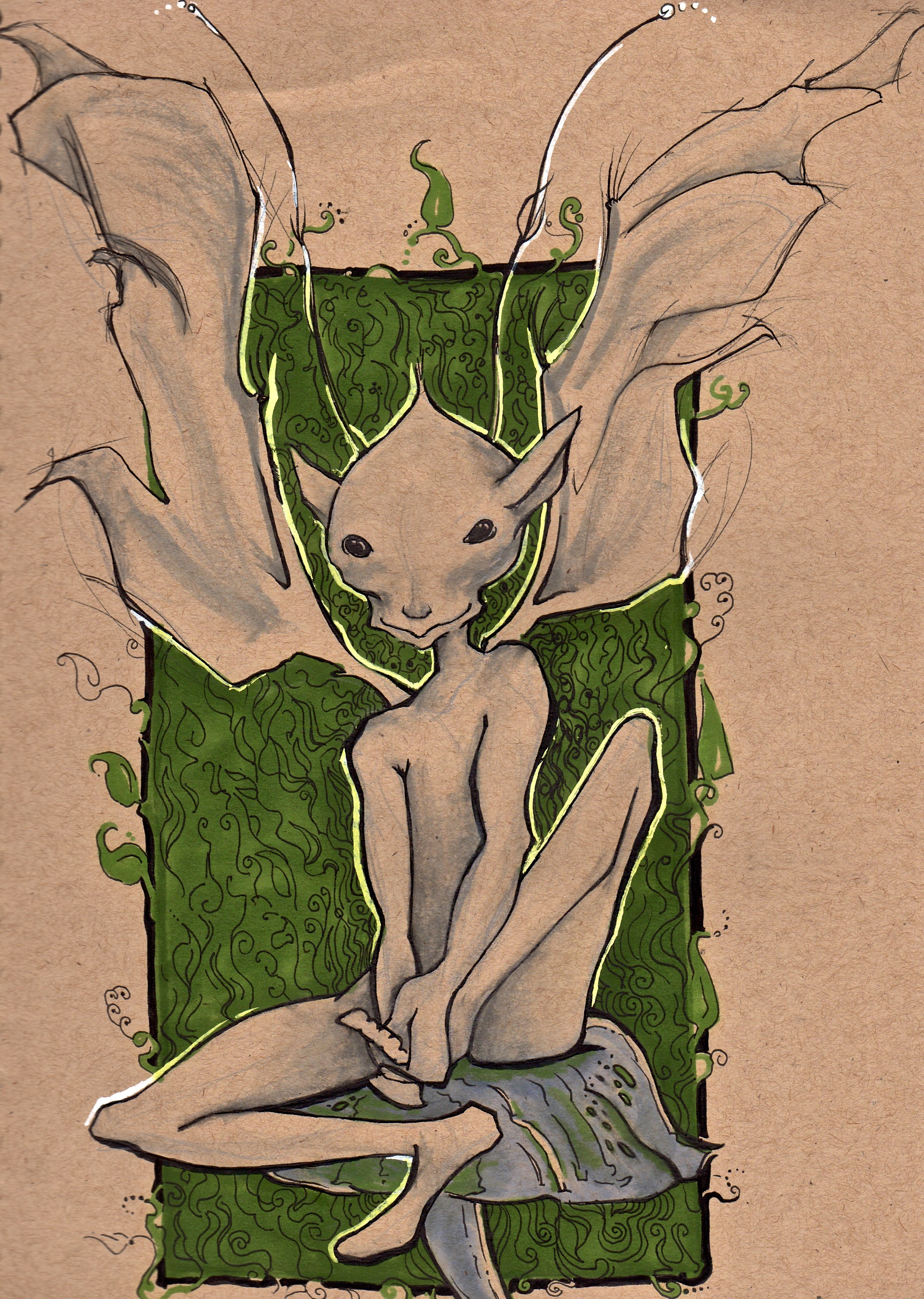 - The Fairy Tree Sleeve -  The Foot Fairy that will be surrounding the tree shown below.