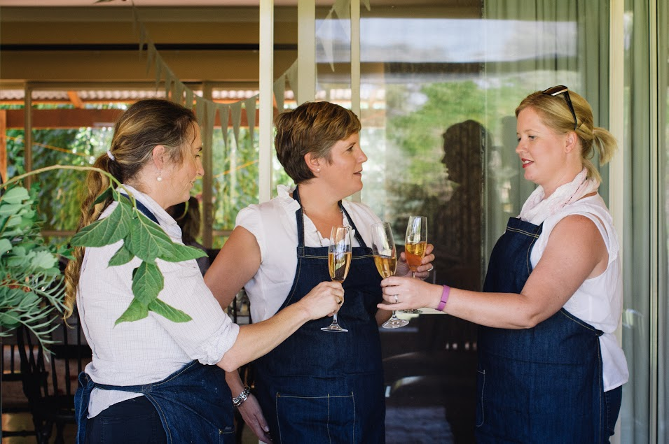 Jo from  The Little Farmhouse Pantry , Hannah from  Swan River Constructions , Joanne from ' The Paddock Rose'