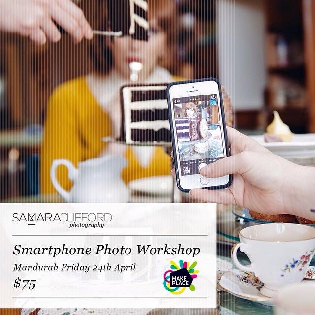 Smart Phone Workshop with Samara Clifford