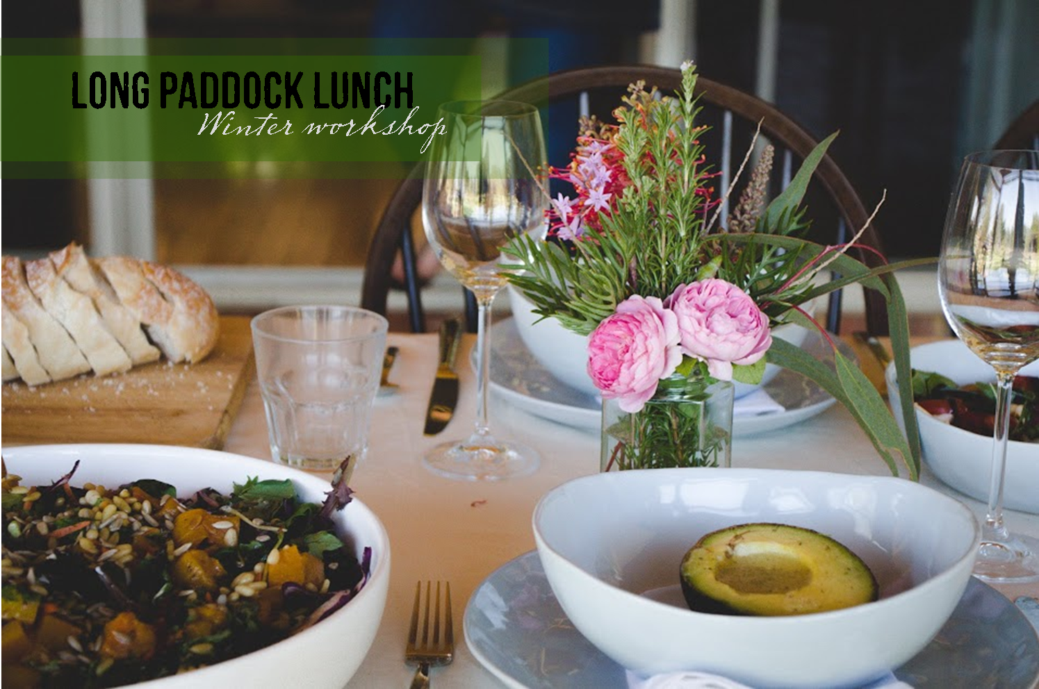Long Paddock Lunch - winter workshop