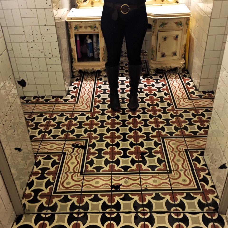 The Liquor Room Ladies Bathroom Floor Tiles
