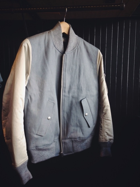 Denim MA-1 Jacket