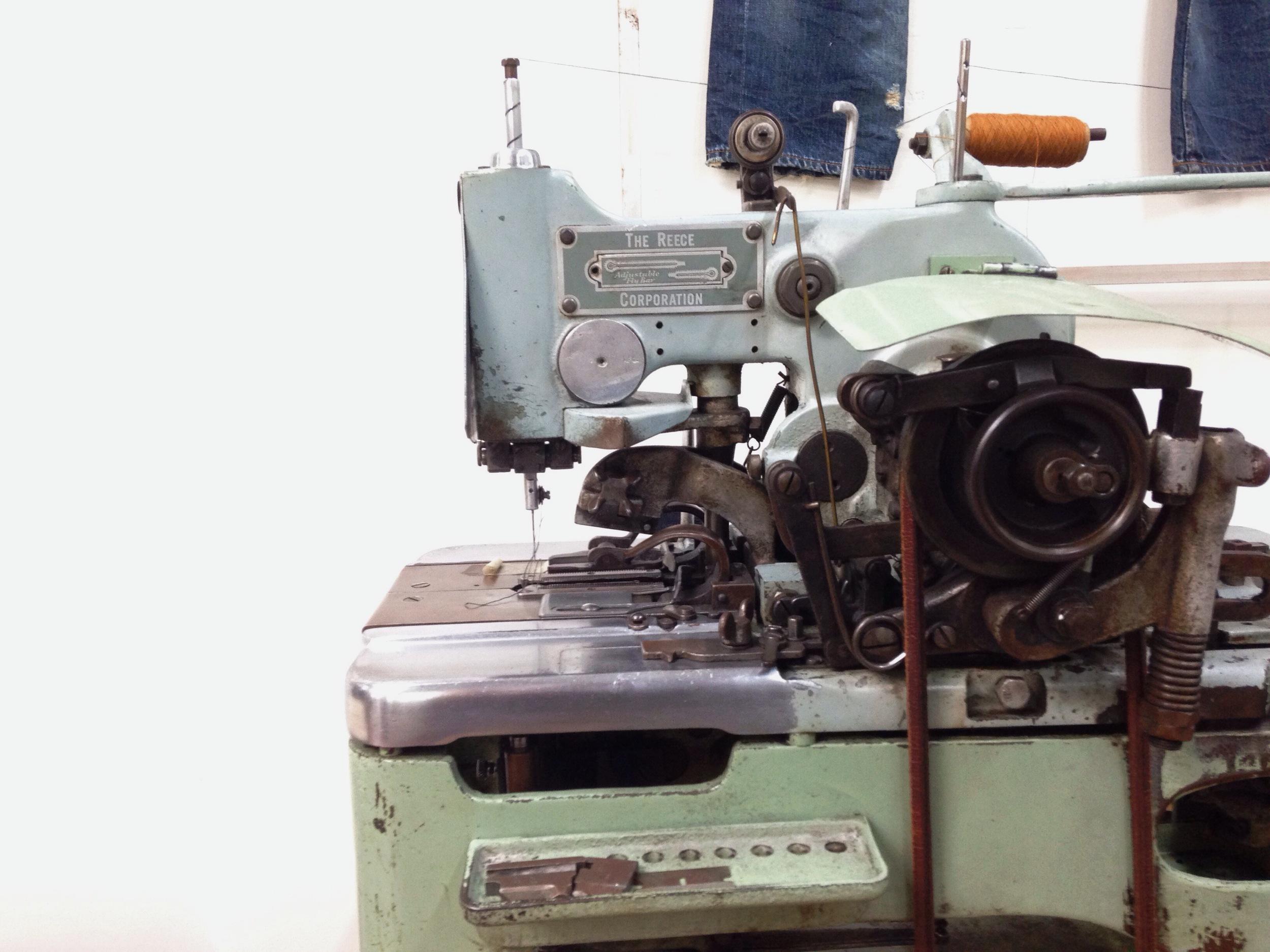 Key hole machine.