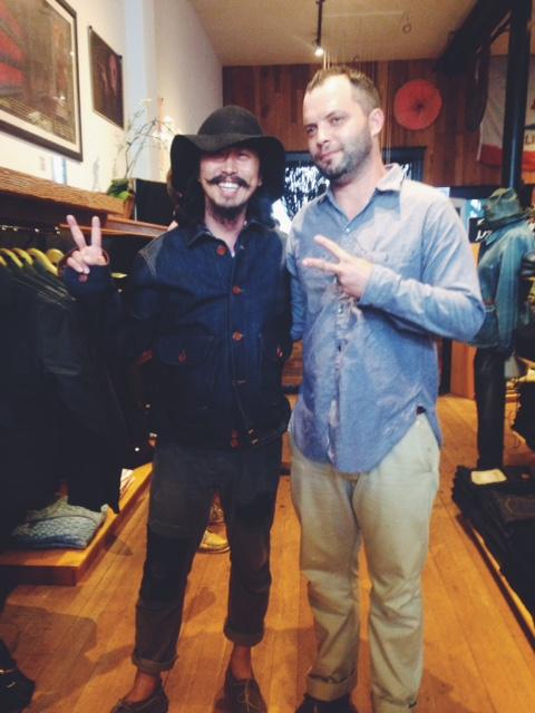 Matt (Shockoe) and Ray (Matchbook Co.)