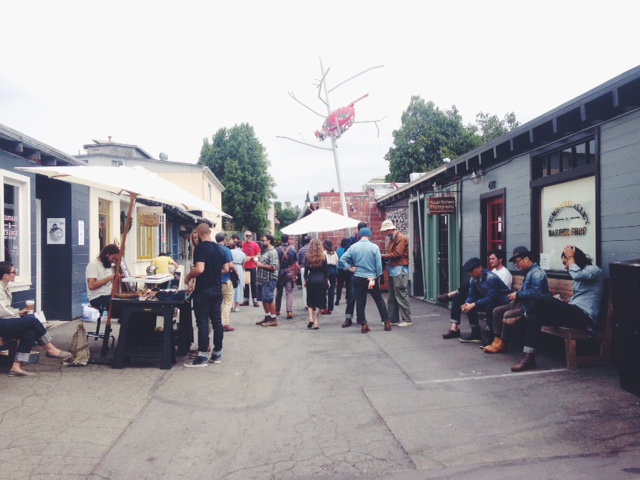 Standard and Strange in Temescal Alley