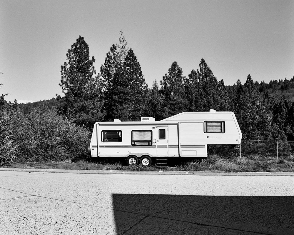 Northern California, March 2014 {Scanned 120mm B&W film negative}.