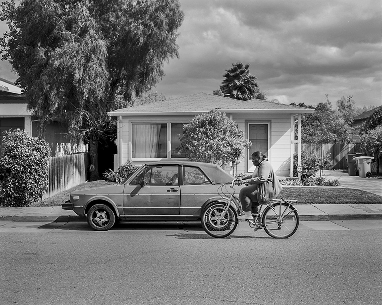 Palo Alto, California. March 2014 {Scanned 120mm B&W Film Negative}.