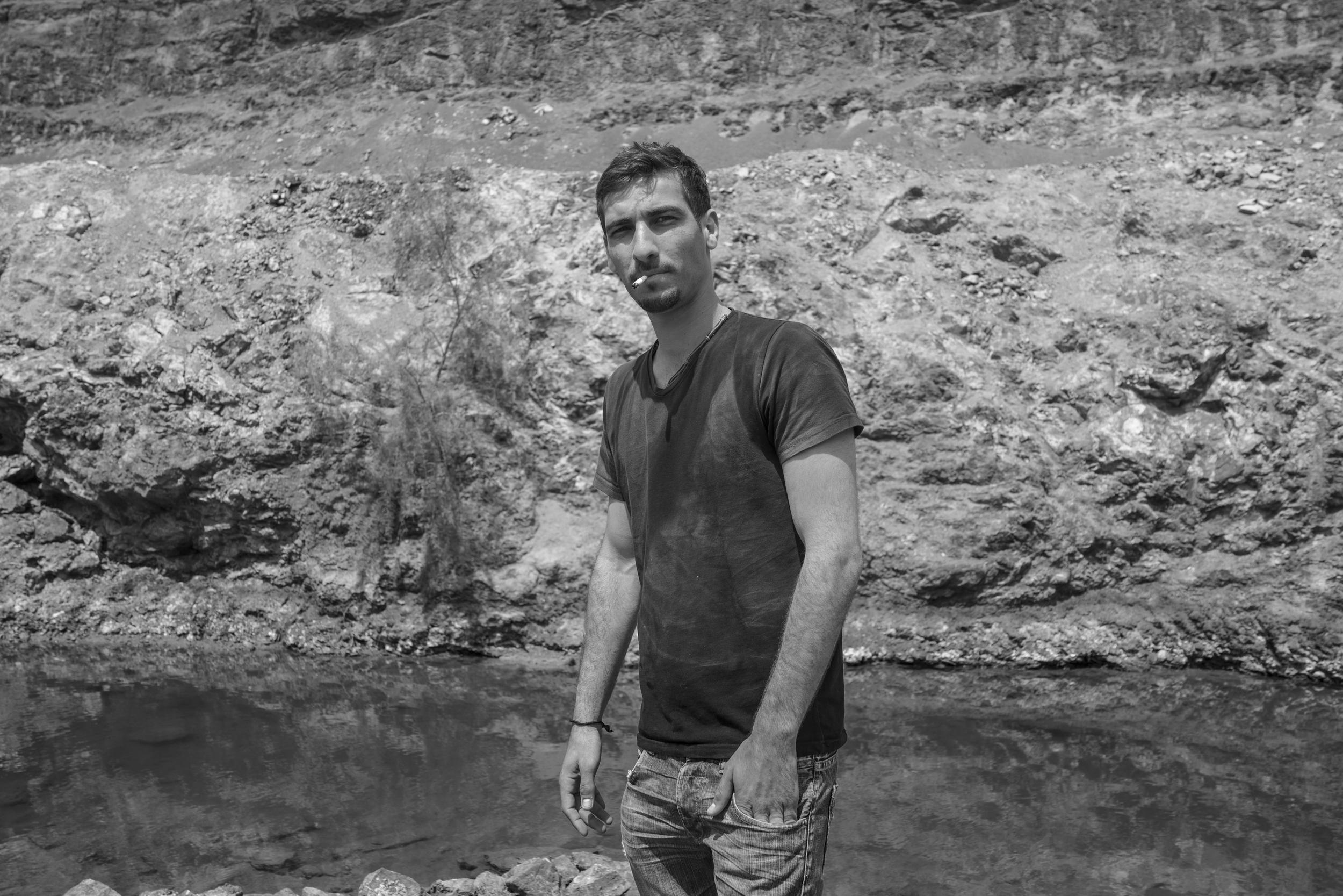 Ramon Crater, Israel. April 2014.