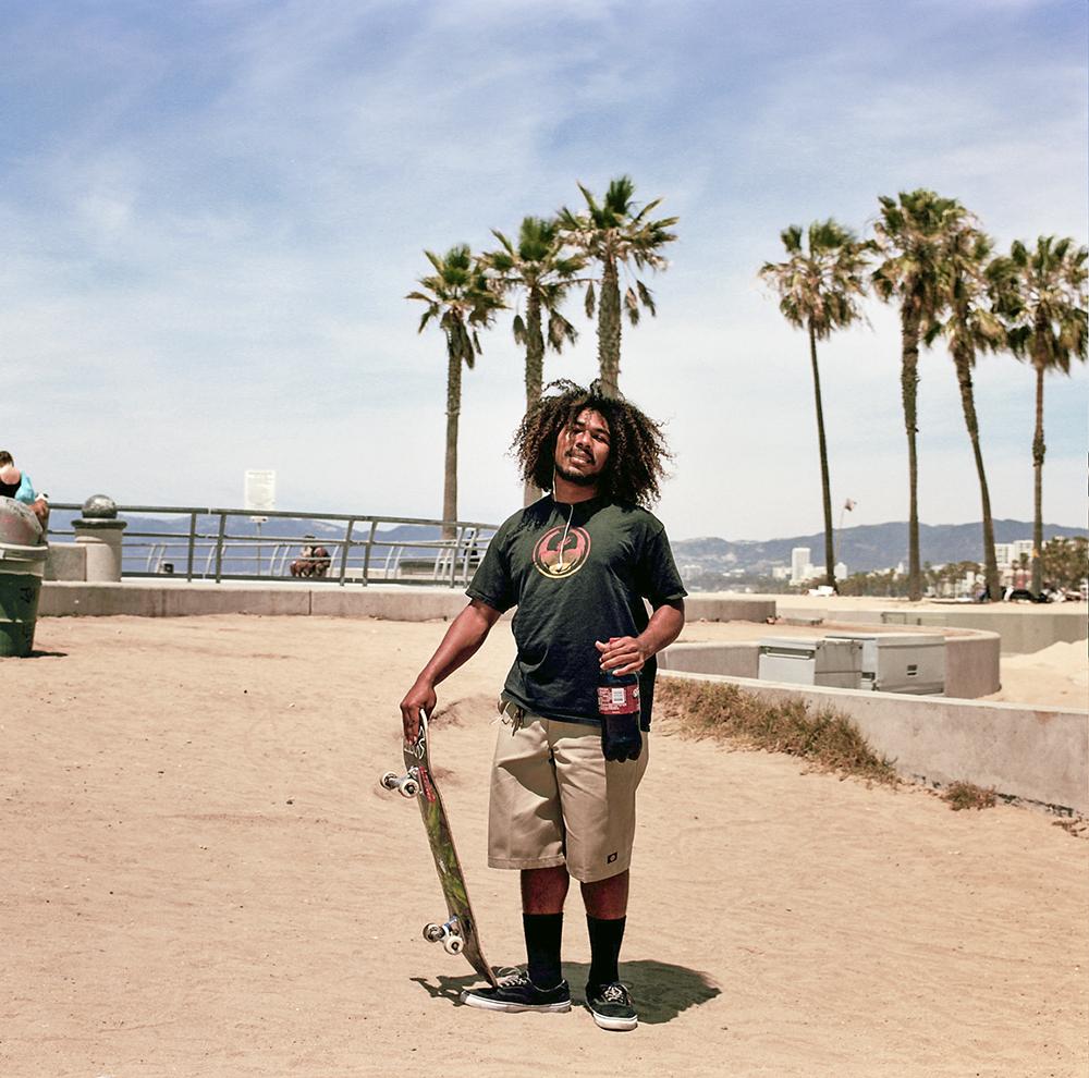 Venice Beach, California. May 2014.