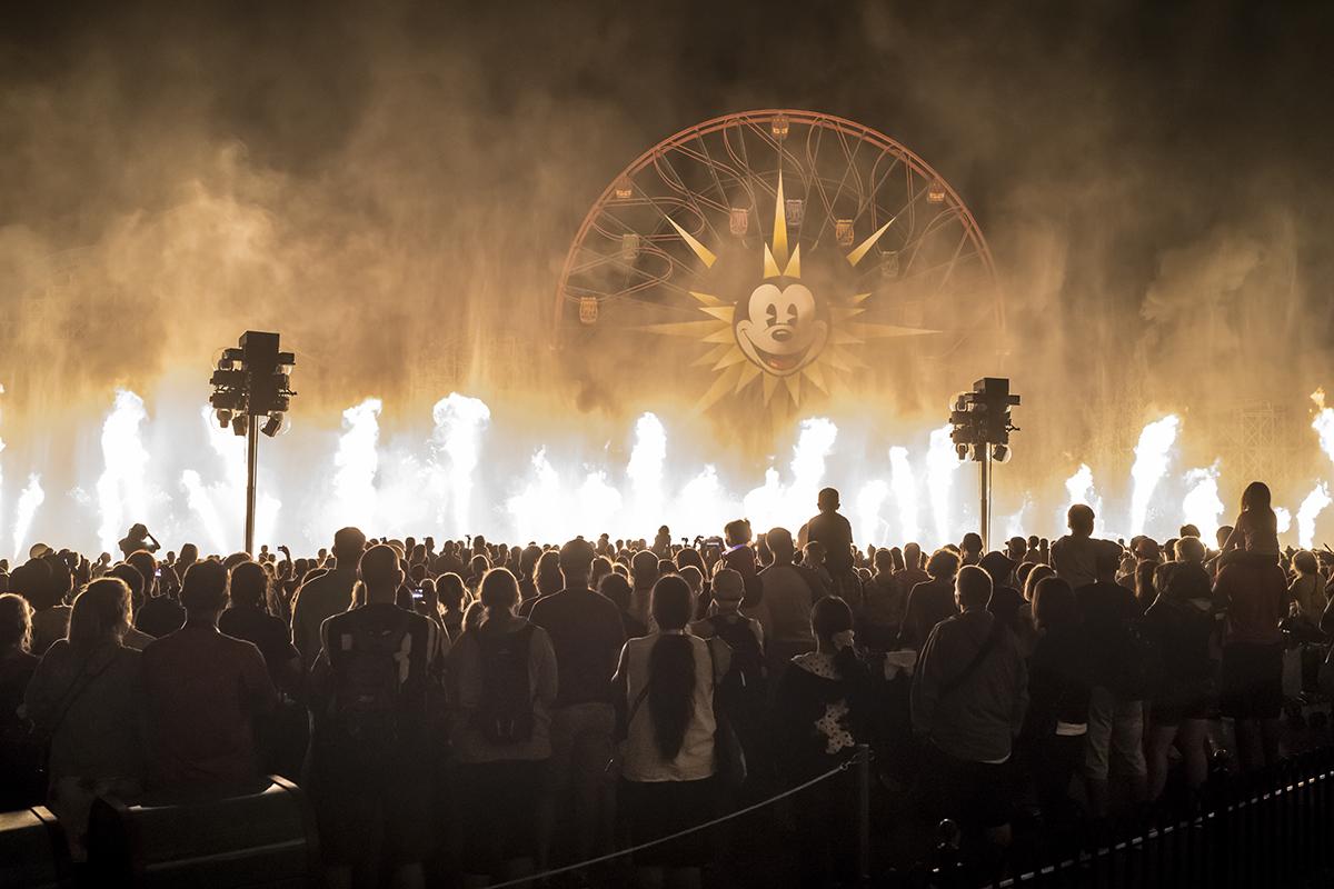 {Disney California Adventure Park} Anaheim, California. October 2014.
