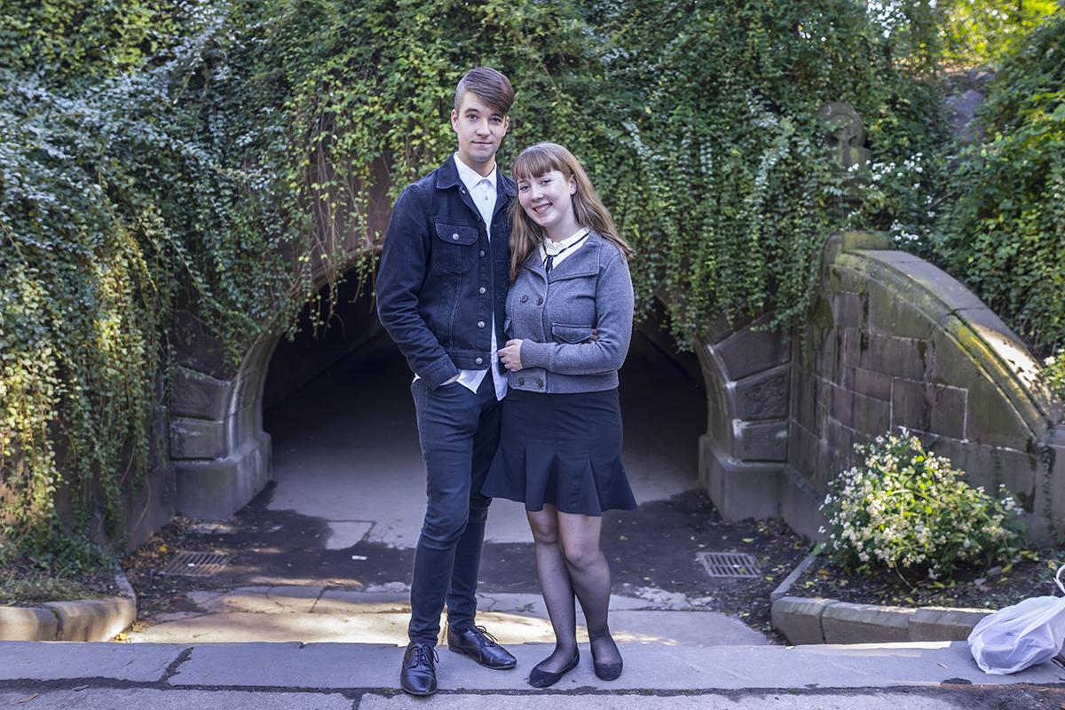 Maria & Drew at Central Park. New York, October 2014.