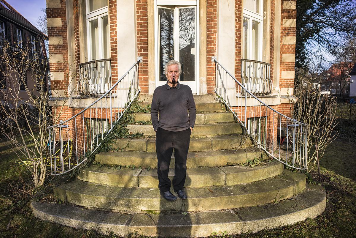 Egidio Marzona at his Villa. Berlin, Germany. January 2015.