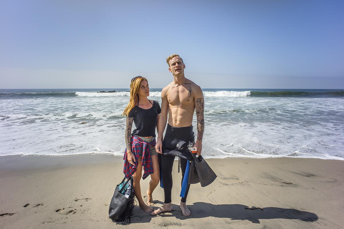Theon &Alex. Malibu, California. May 2015.