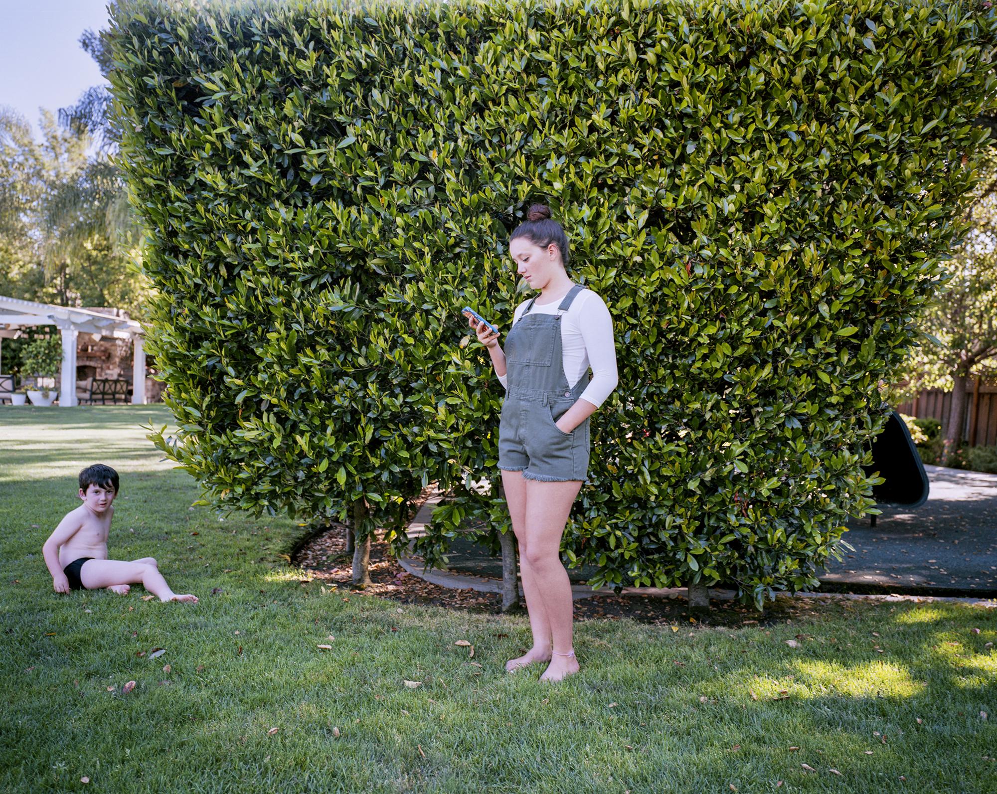 Atherton, California. June 2015.