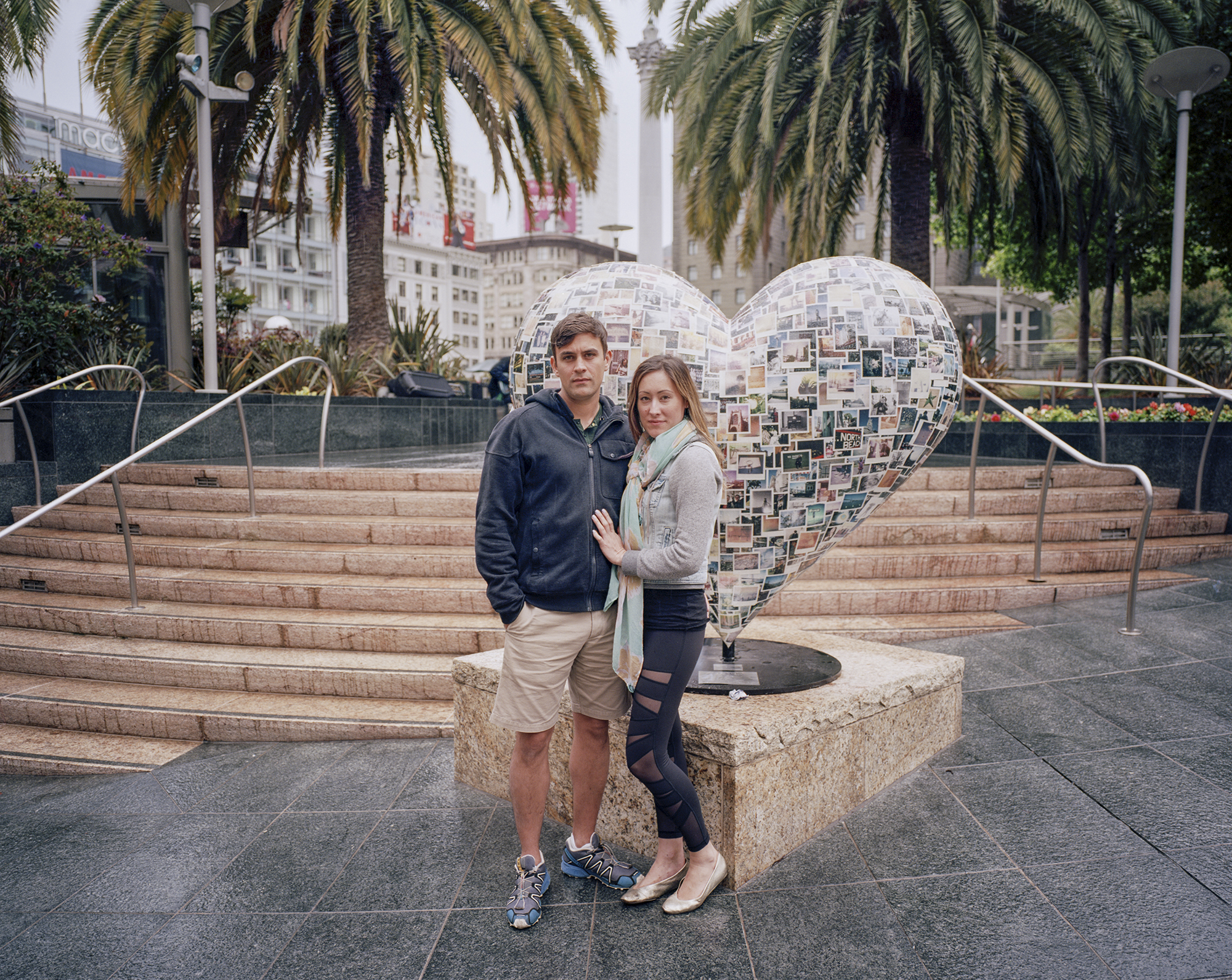Couple. San Francisco, California. June 2015.