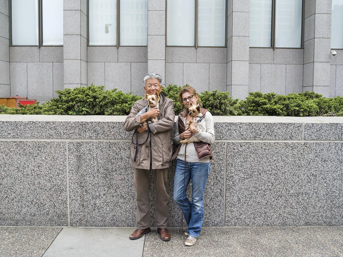 Philip and Cynthia  San Francisco, California. September 2015.