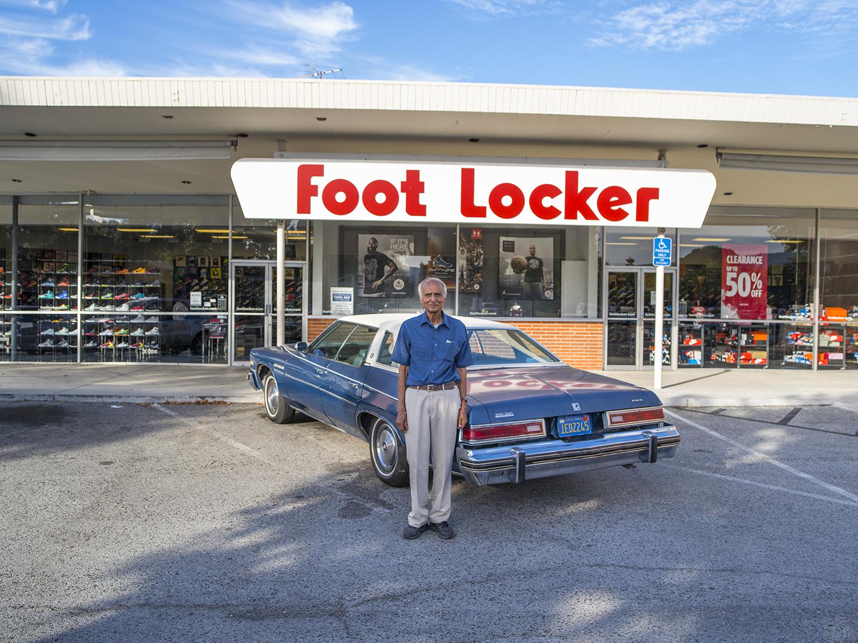 Reddy by his Buick Le Sabre 1976 | Palo Alto, California. September 2015.