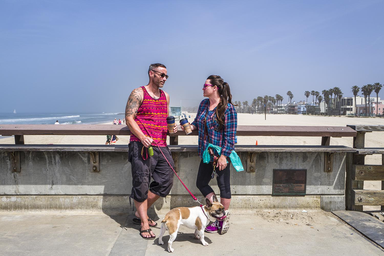 Matt and Katie | Venice Beach, California. June 2016.