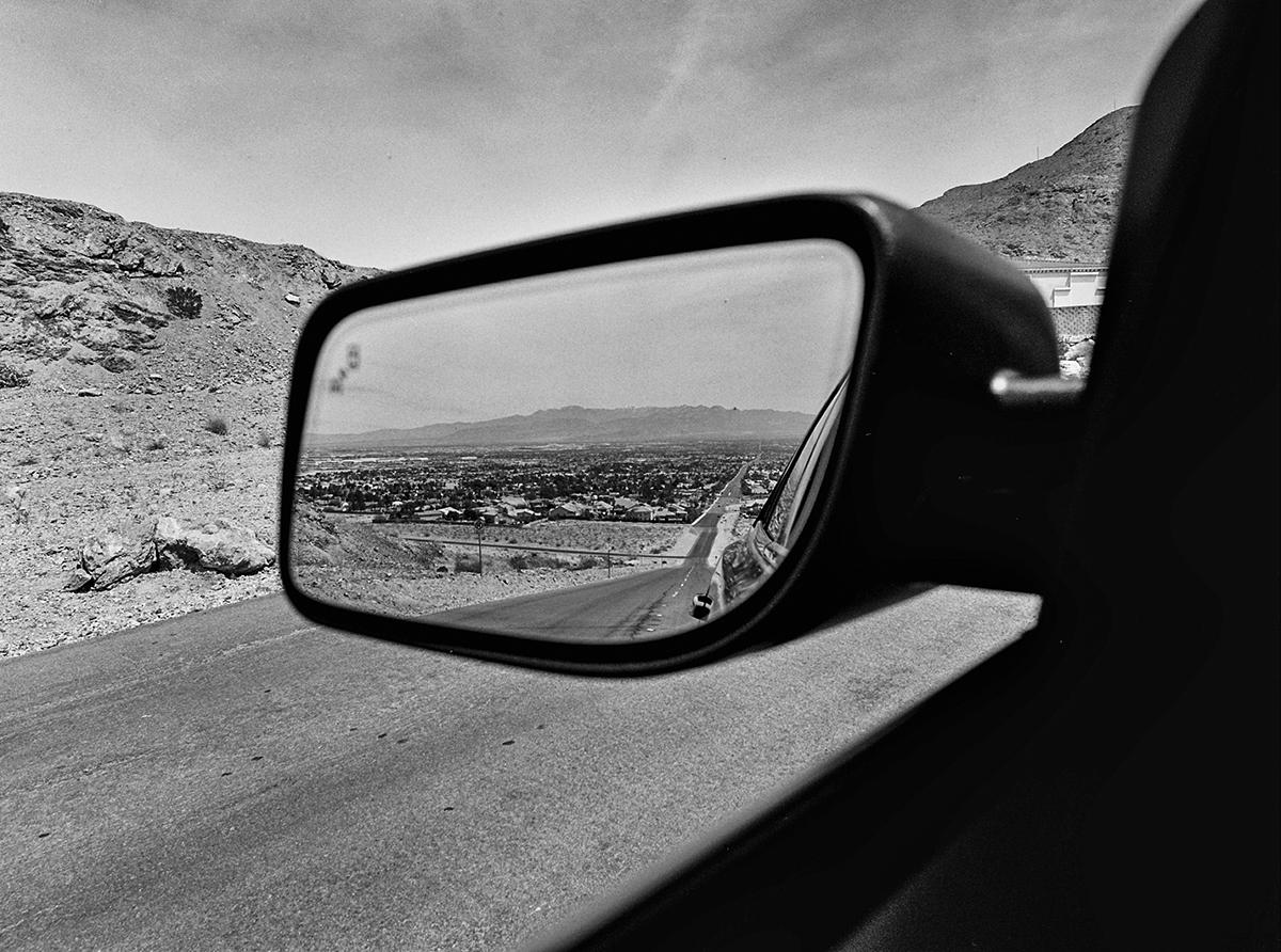 The Last House | Las Vegas, Nevada. April 2016 {Scanned 120mm B&W Film Negative}