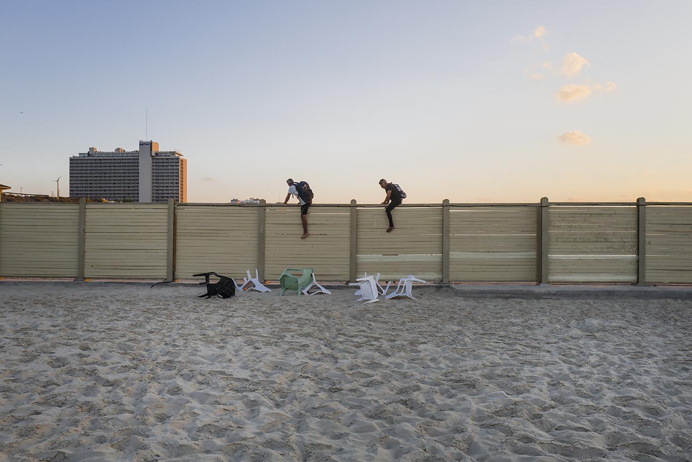 Tel-Aviv, Israel. October 2016.