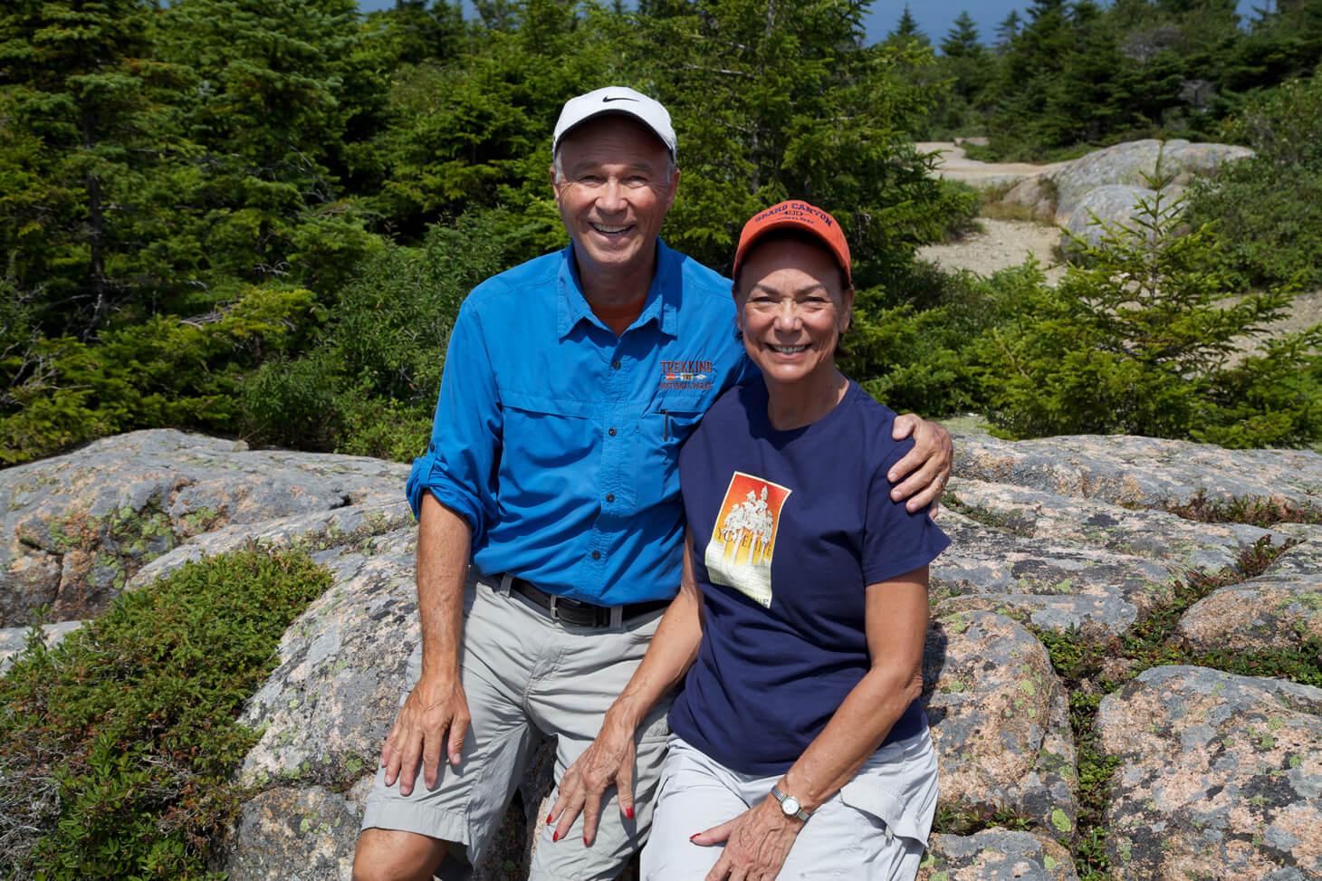 Trekking Acadia...park visit  #44 .