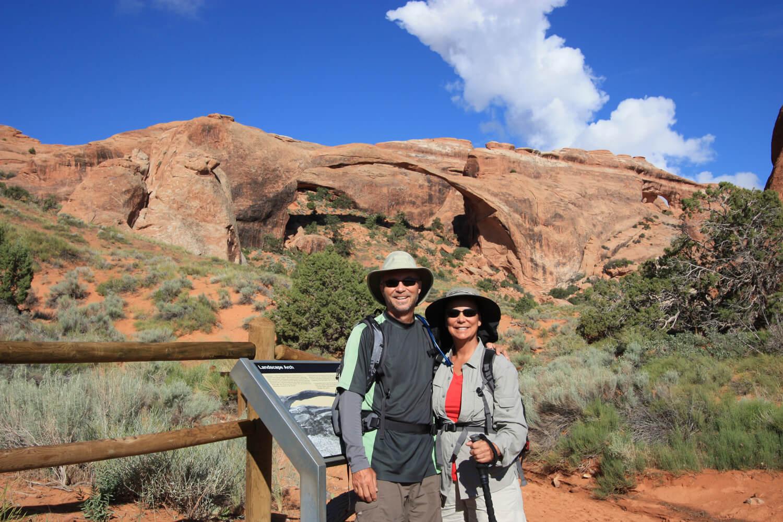 Trekking Arches...park visit  #7 .