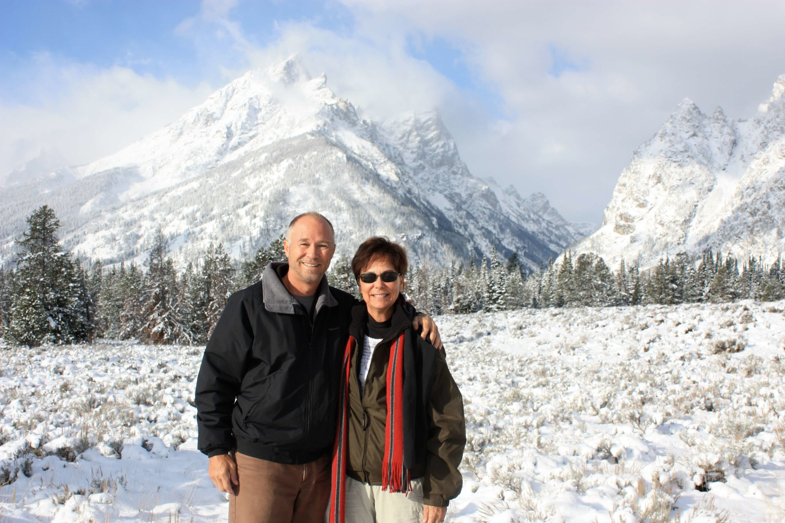 Trekking the Tetons. Our  2nd  park visit!