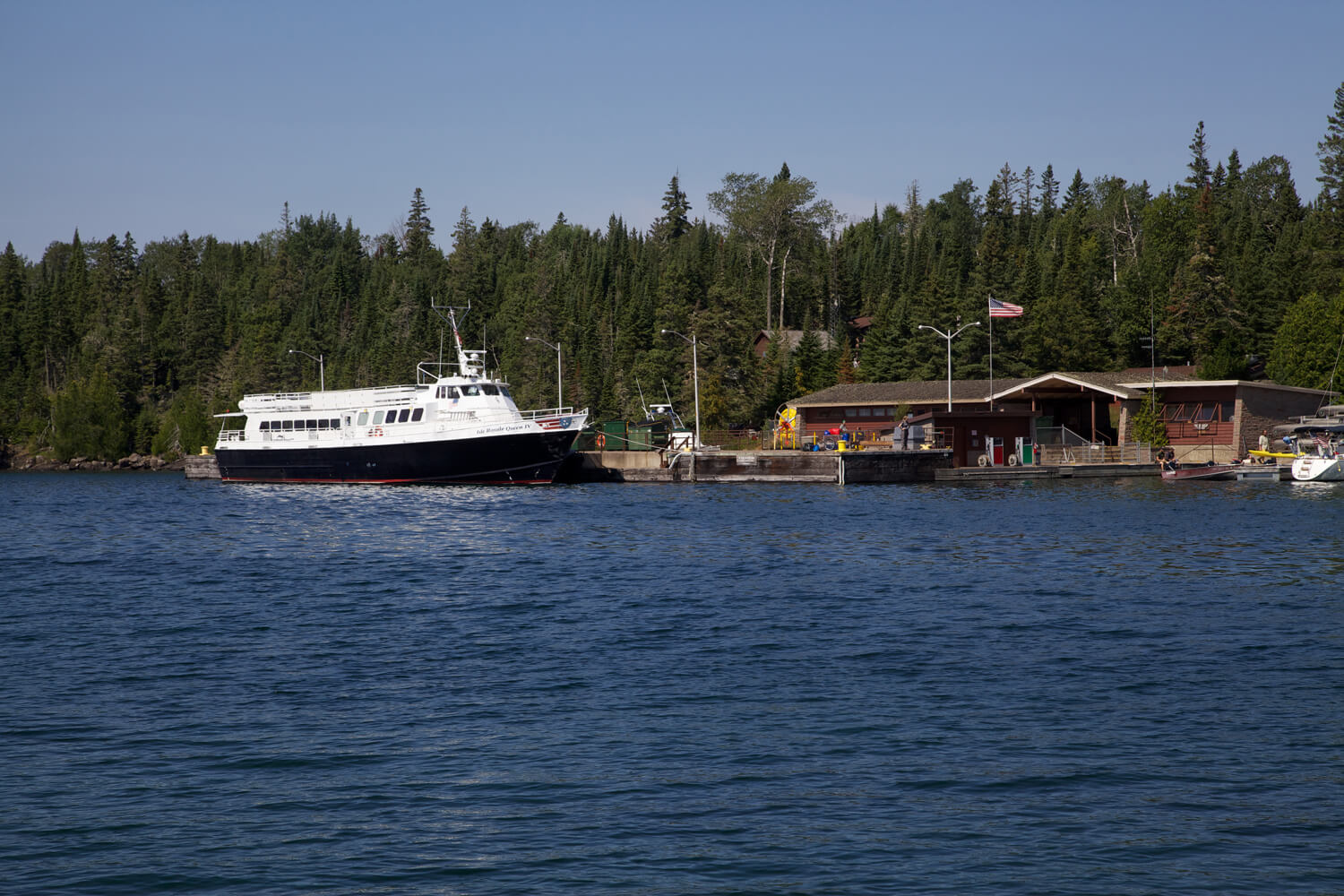 Two ways to get to Isle Royale - Ferry or Sea Plane.