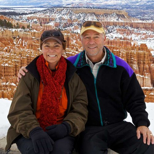 John and Terry visit Bryce Canyon National Park