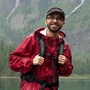 Charlie at Glacier National Park