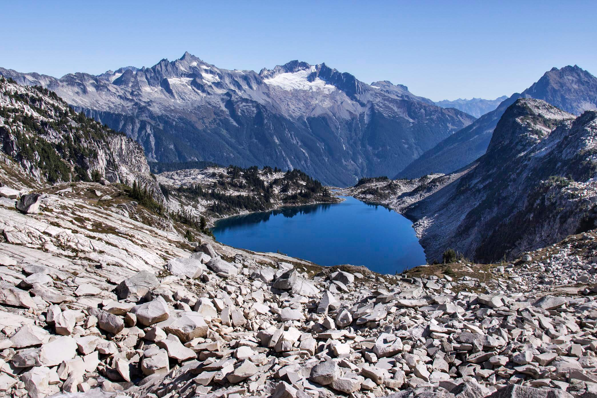 North Cascades high country. Photo by Andrew Thomas