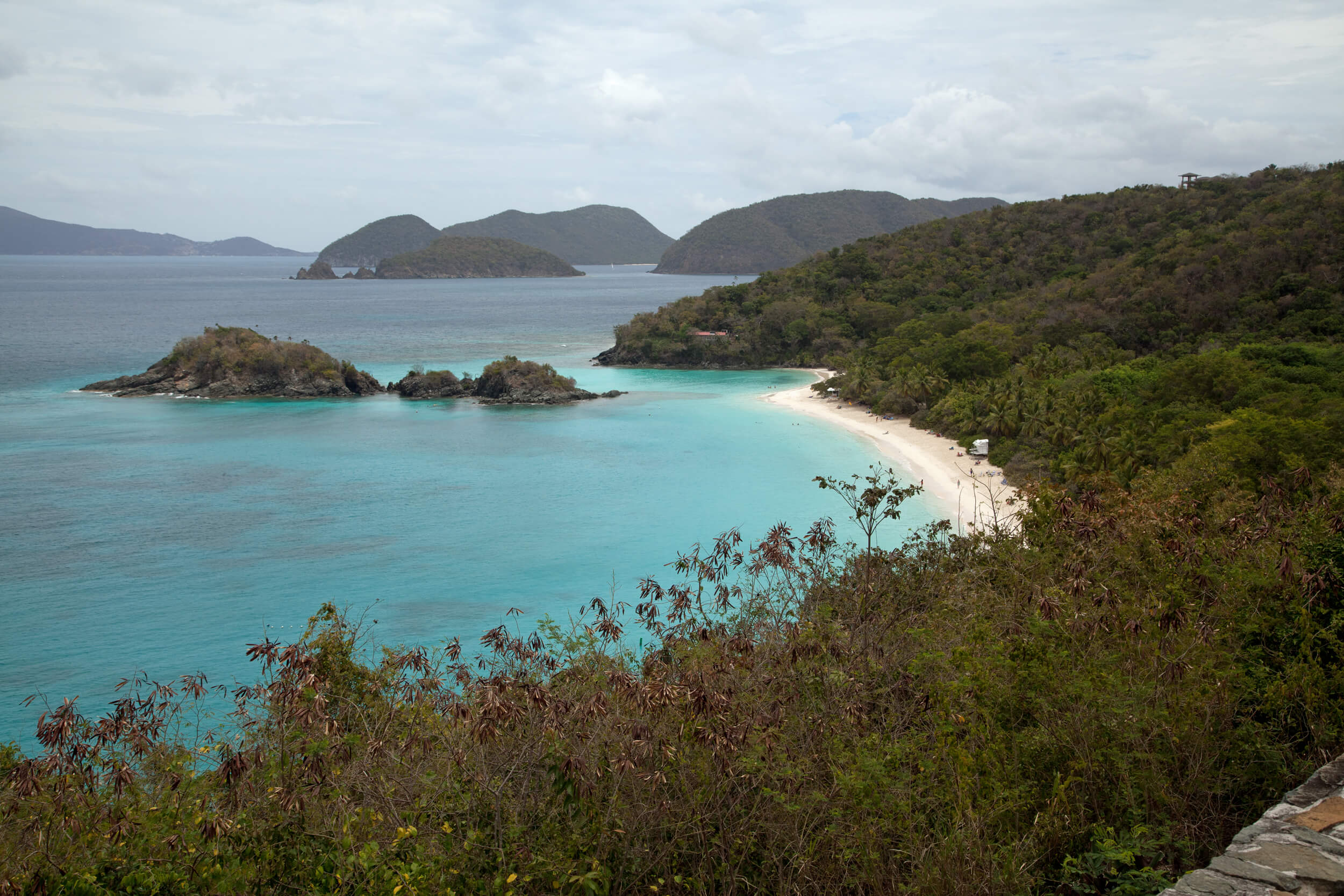 Trunk Bay - St. John's most popular beach and one of the world's most photographed.
