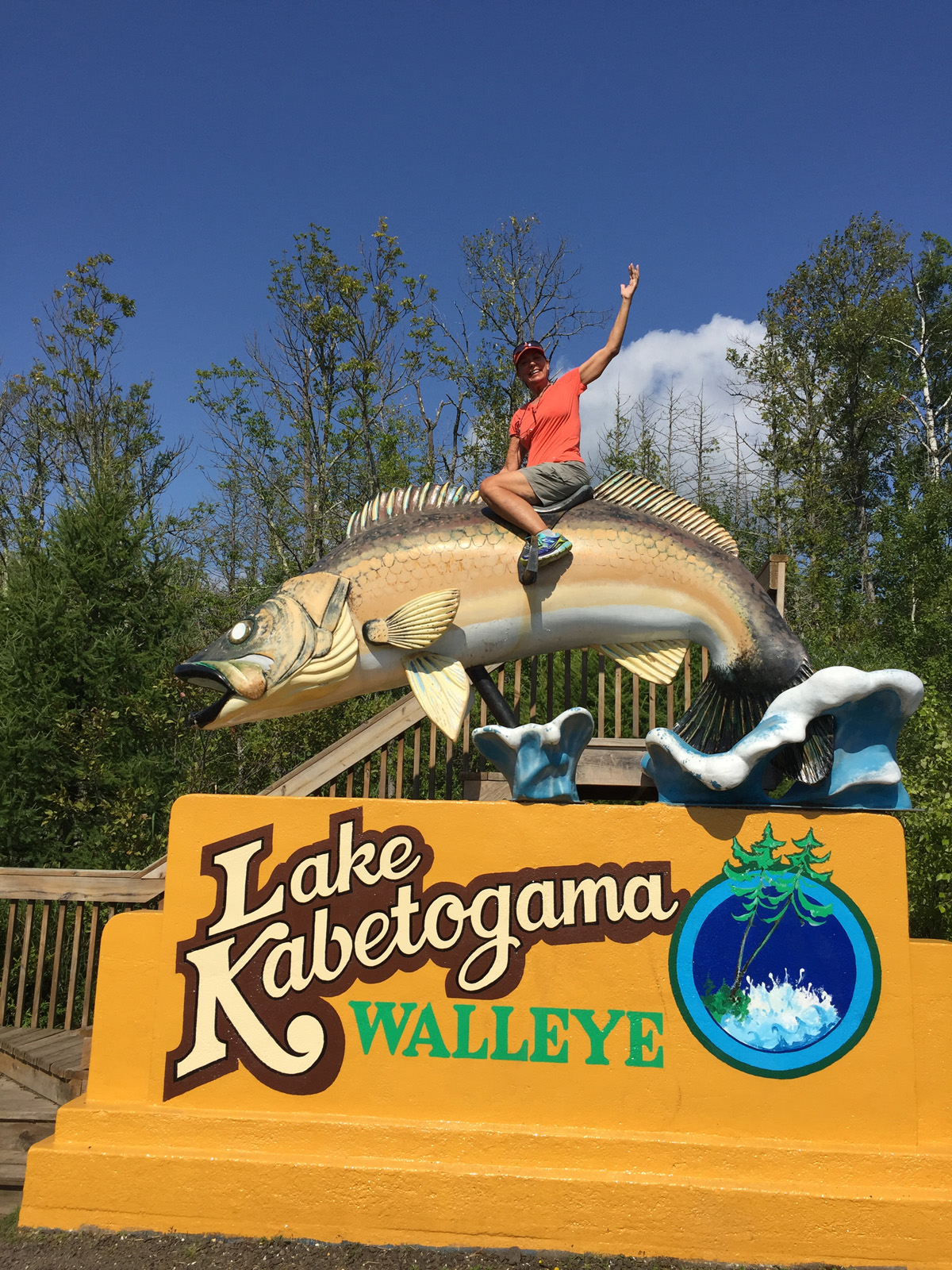 Terry chose to ride the wild Walleye during our  57th  park visit!