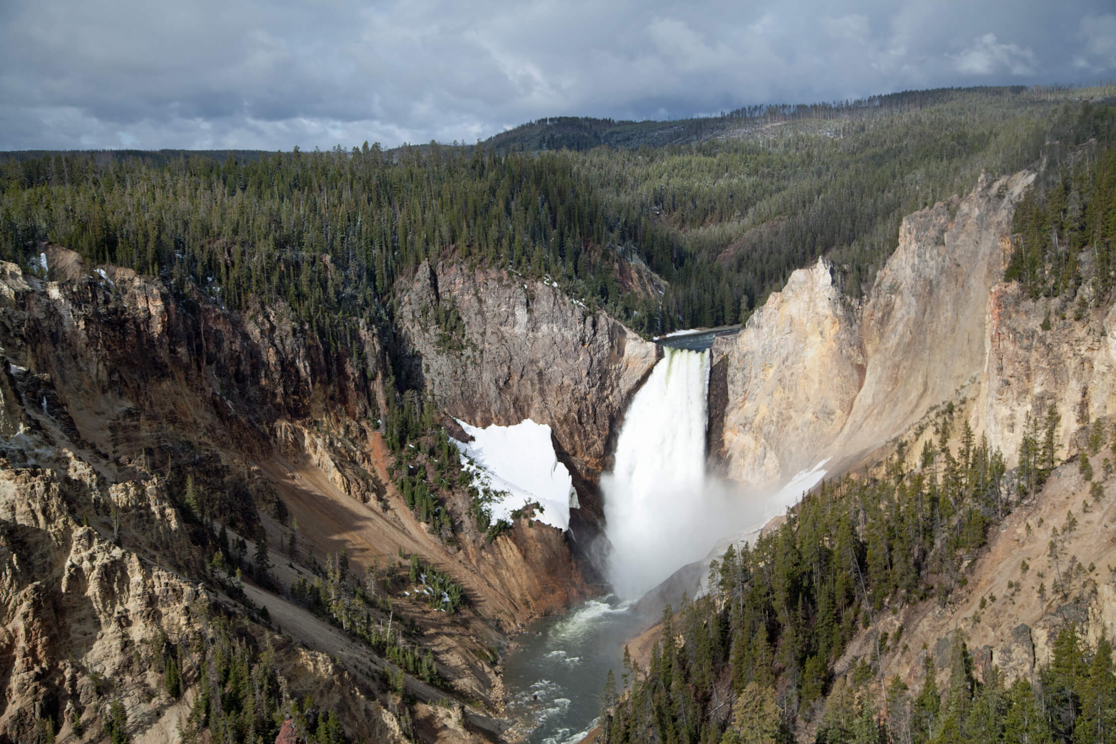 Grand Canyon of the Yellowstone and its magnificent waterfalls.
