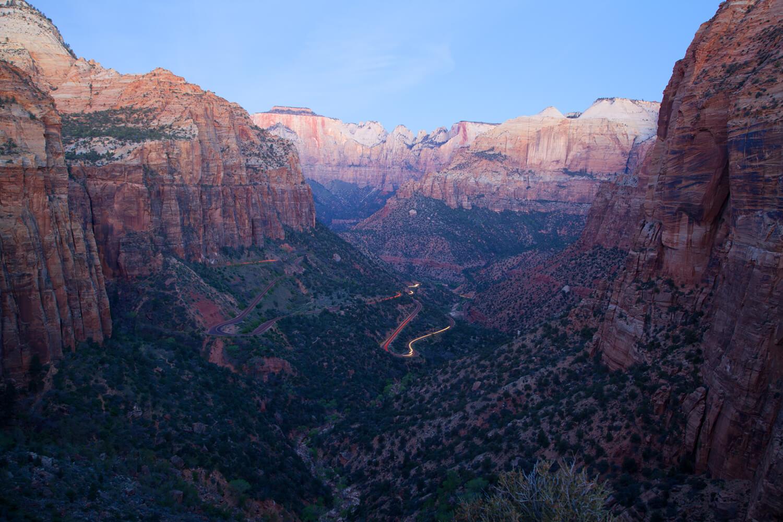 Canyon Overlook pre-dawn