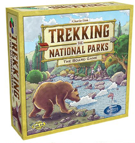 Original Box Cover for Trekking the National Parks Board Game