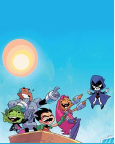 "Teen Titans Go! #30 - ""Burrito-ing The Hatchet"""